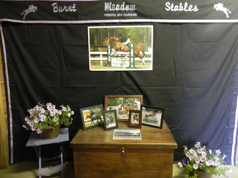Burnt Meadow Display horse show